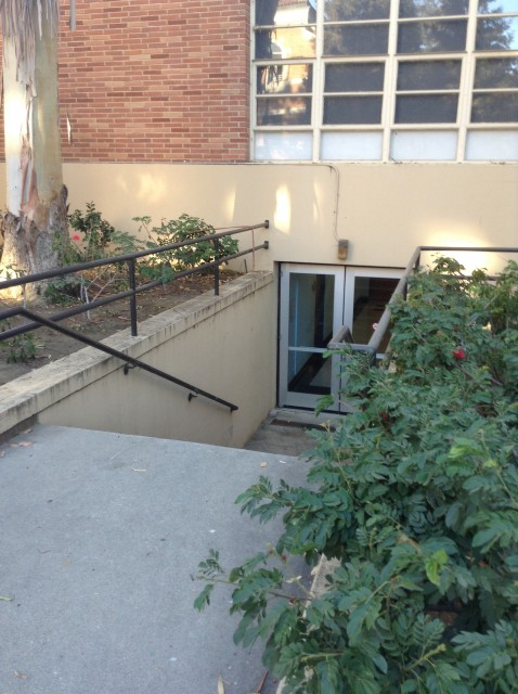 Entrance to basement