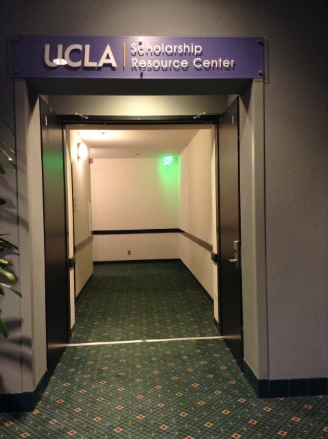 Hallway to room 240