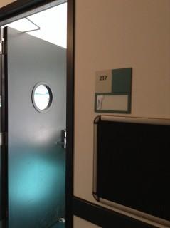 Room 239 door