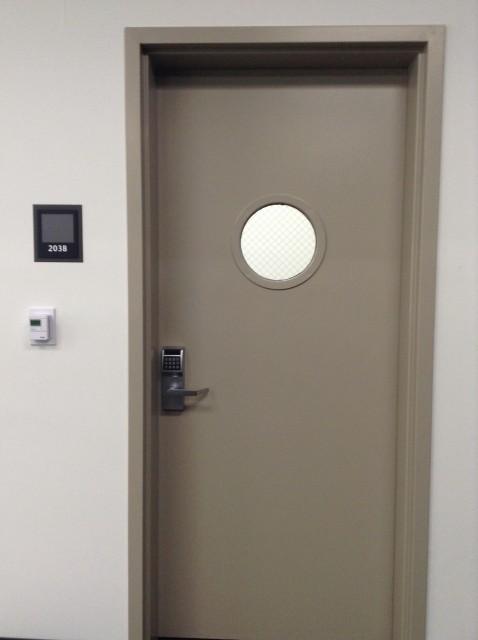Room 203B door