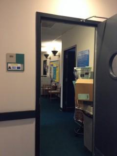Room 205 door