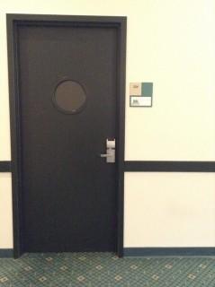 Room 224 door
