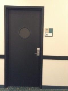 Room 226 door