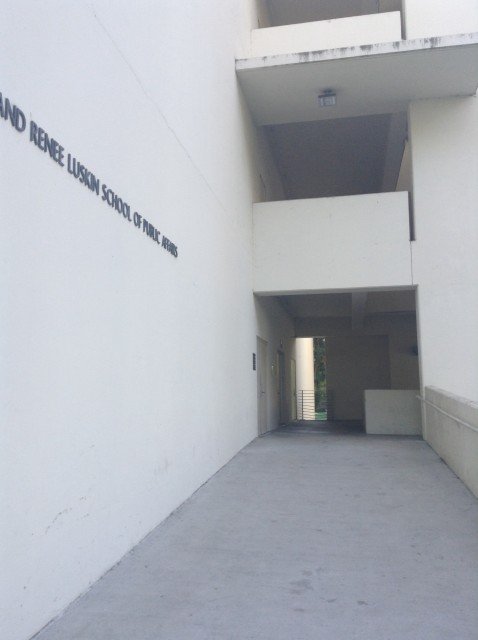 Side Entrance into Second Level