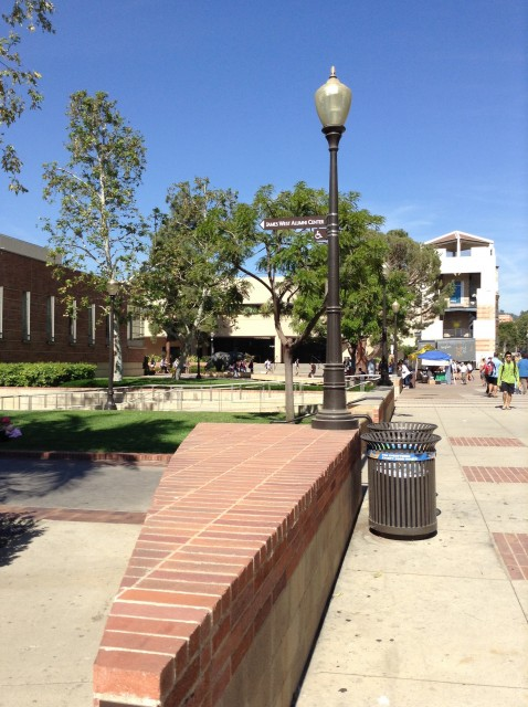 Coming from Westwood or Bruin Plaza