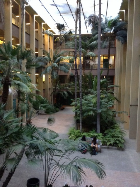 Bunche Palm Court