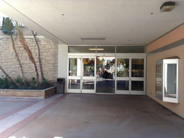 Level 1 front entrance